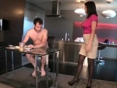 Office ass worshipper in chastity