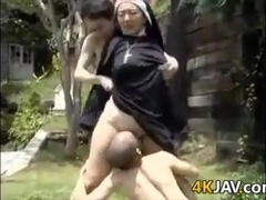 Japanese Girl Fucked Outside