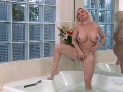 admirable fuck aged in washroom