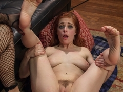 Incredible lesbian, blonde porn scene with horny pornstars Tanya Tate and Penny Pax from Footworsh.
