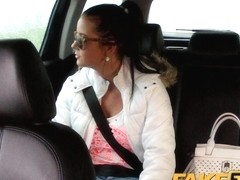 FakeTaxi: Hawt nineteen year old in taxi cab scam