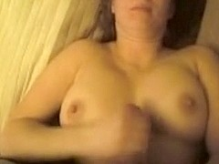Filming a private handjob from wife