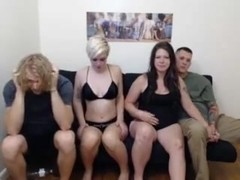 2 couples play around