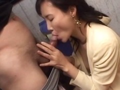 Horny Japanese chick in Best JAV uncensored MILFs scene