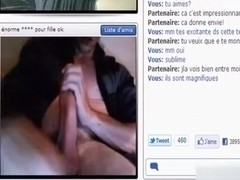 2 french strangers have cybersex