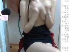 Korean girl chat on cam part 2