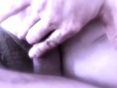 A foot job that turned into a elementary fuck