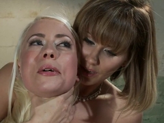 Hottest lesbian, fetish sex movie with exotic pornstars Maitresse Madeline Marlowe and Lorelei Lee.