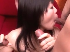 Best Japanese slut Hikaru Kirameki in Crazy JAV uncensored Group Sex video