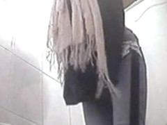 Toilet spy cam is recording hot bitches peeing