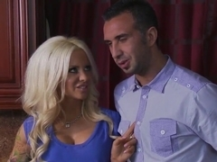Keiran Lee wakes sexual fire in Helly's loins