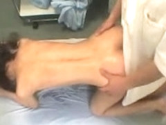Therapist finger fucking her bawdy cleft