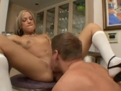 Kara Novak gets a face full of cock.