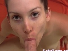 Just the tip while I stroke YOUR cock then fuck me hard