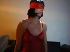 Resigned blindfolded mother I'd like to fuck engulfing great rod