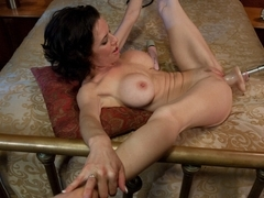 Crazy squirting, fetish sex scene with incredible pornstar Veronica Avluv from Fuckingmachines