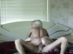 Cheating Blonde Dirtbag Getting Banged On Spy Camera