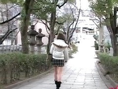 Cool sharking skirt scene of extremely tempting young exotic chick