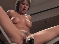 Fabulous fetish adult scene with horny pornstar Katie St. Ives from Fuckingmachines
