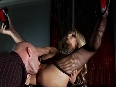 Gorgeous Blonde Madison Ivy Shows Off Her Perfect Body For Him