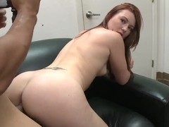 Adorable redhead Cammie Fox enjoys hardcore sex