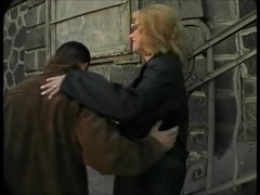 Ugly and Busty russian prostitute picked up the street