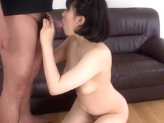 Incredible Japanese chick Hana Harusaki in tic JAV uncensored Blowjob movie