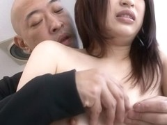 Incredible Japanese chick Riko Oshima in tic JAV uncensored Shaved movie