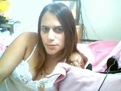 Latin Playgirl Playing With Herself
