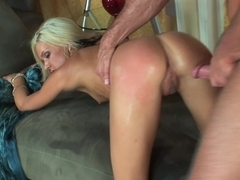 Wild red ass pounding action with Kacey Jordan