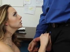 Hot Chanel Preston and her boss Evan Stone