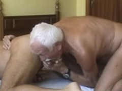 Two sexy studs fuck their arses until they both climax