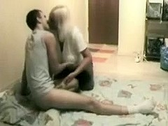 Russian Mamma Sex Clip Scene Astonishing Fucking with Young Adult Boy