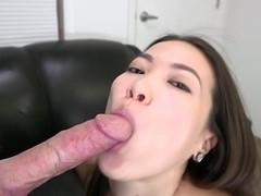 Asian Girl Gets Her Pussy Pounded and A...
