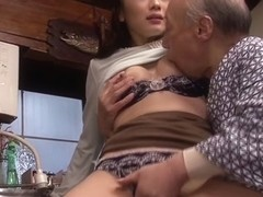 Japanese old and young porn