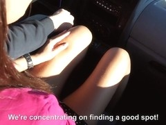 Alexis Brill & Alyssa Daniels & Tricia Girl in Orgy with Three Sexy Hitchhikers - StrandedTeens