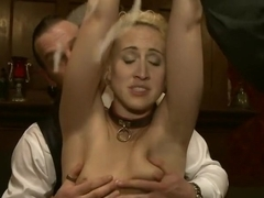 House Party: Stretching pussy