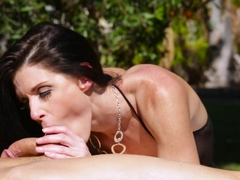 Hottest pornstars Ryan McLane, Robby Echo, India Summer in Exotic Stockings, Natural Tits porn sce.