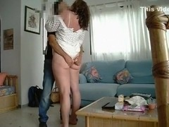 2 guys on vacation in tenerife have a threesome with a milf