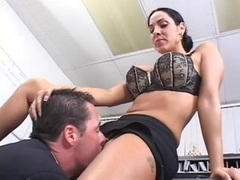 Veronica Rayne office fuck