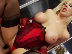 Best pornstar in hottest big tits, lingerie xxx movie
