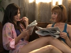Bobbi Starr & Dana DeArmond in Lesbian Bridal Stories #04, Scene #04