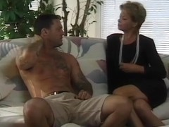 Sexy Aged Cougar Sharin Rides Youthful Boyfrend