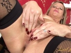 Video from AuntJudys: Silky Thighs Lou