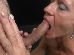 Older mother engulfing and fucking hard youthful dude