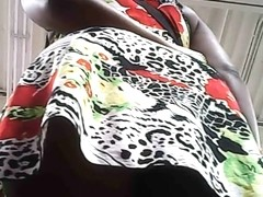 black girl upskirt