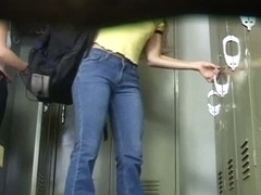 Locker-room voyeur video