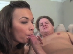 Young babe Crissy Moon gets boned deep