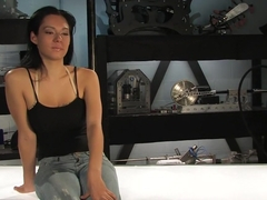 Crazy anal, fetish porn clip with fabulous pornstar from Fuckingmachines