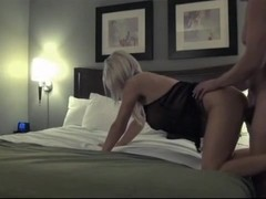 Stunning milf has dirty hotel sex